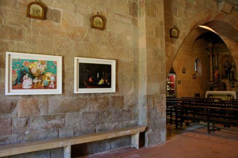 Bianyal 2014 - Obres de Clara Oliveras (Santa Margarida de Bianya)