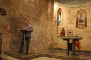 Bianyal 2014 - Pep Nogué explicant el tastet (Santa Margarida de Bianya)
