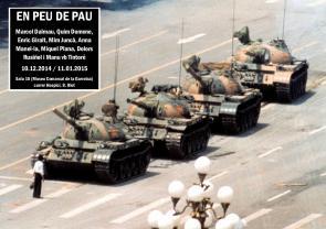 """Exposició """"En peu de pau"""" (cartell)"""