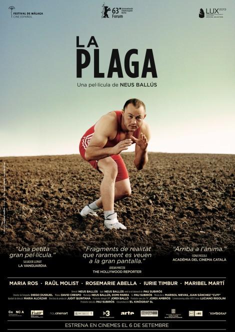 """Sessió doble 1 - cartell de """"La plaga"""""""