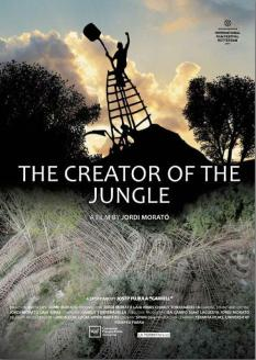 """Sessió doble 2 - cartell d'""""El creador de la jungla"""""""