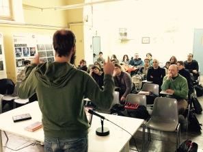 Toni Amengual (xerrada a l'Escola d'Art)