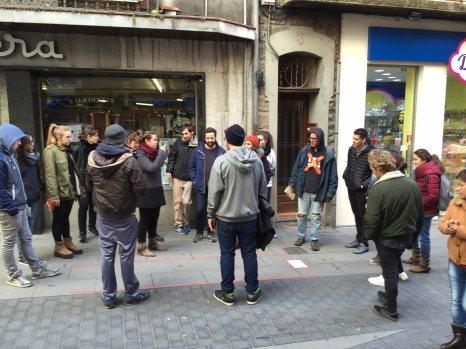 """""""El doble i l'igual"""" (taller Job Ramos a l'Escola d'Art d'Olot)"""
