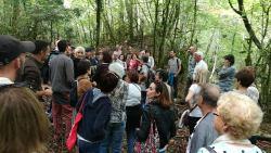 Bianyal 2016 - Jordi Zapata explicant el bosc de la vall del Farró