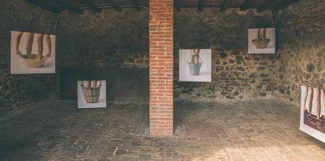 """""""S.T. Enumeració dels estris de càrrega"""" d'Isabel Banal (foto: Marina Sáenz de Pablo)"""