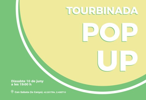 Tourbinada pop up