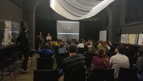 Projecció i debat sobre el documental «Desierto líquido», a l'Escola d'Art i Superior de Disseny d'Olot, 22.5.2018