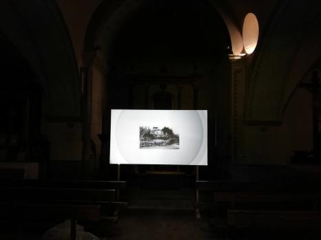 "Olenka Macassi - ""La higiene de la memòria""_Bianyal 2018 (foto David Santaeulària)"