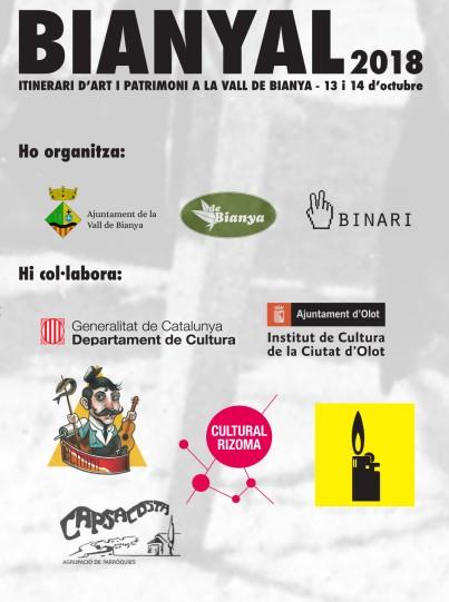 Bianyal 2018_organitzadors i col·laboradors
