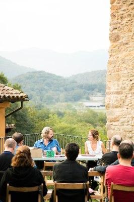 Presentació Fancinc de Pere Llobera (foto Roger Serrat-Calvó)
