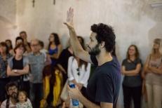 """""""Una tirada de dados""""_Jonathan Millán_Bianyal 2019 (foto: Roger Serrat-Calvó)"""