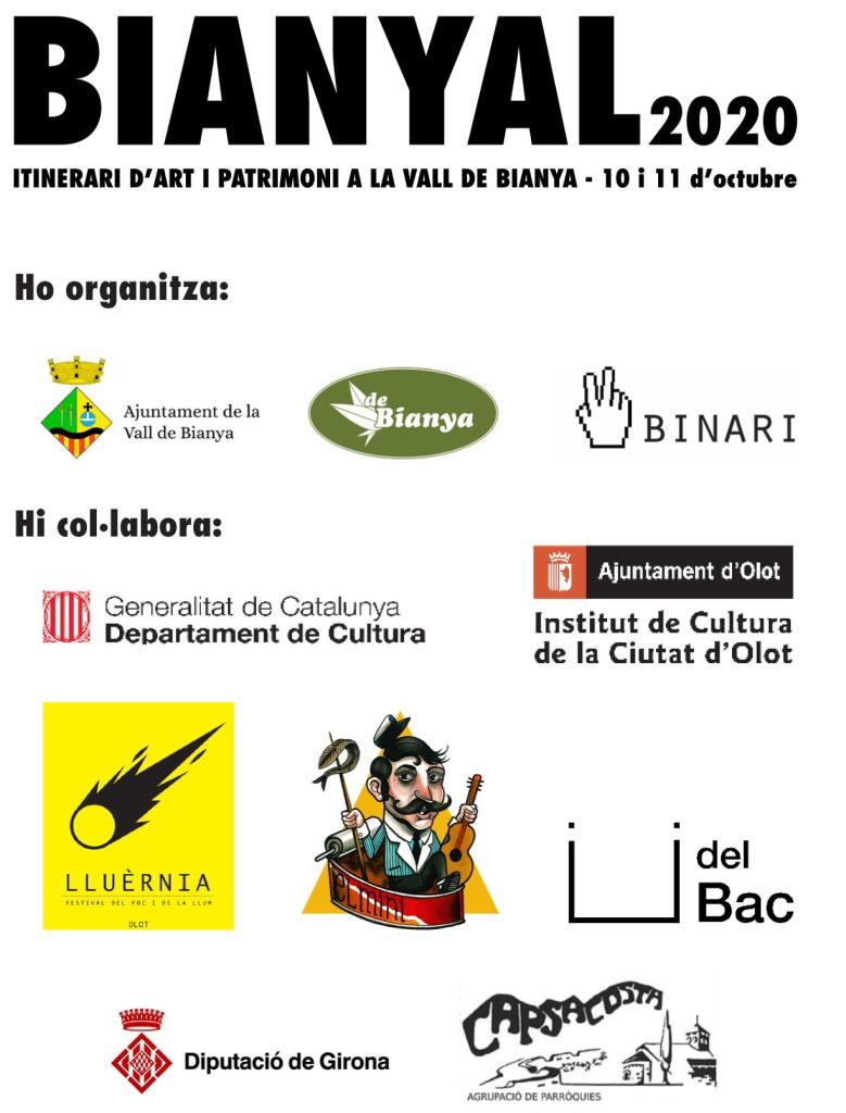 Bianyal 2020 (organitzadors i col·laboradors)