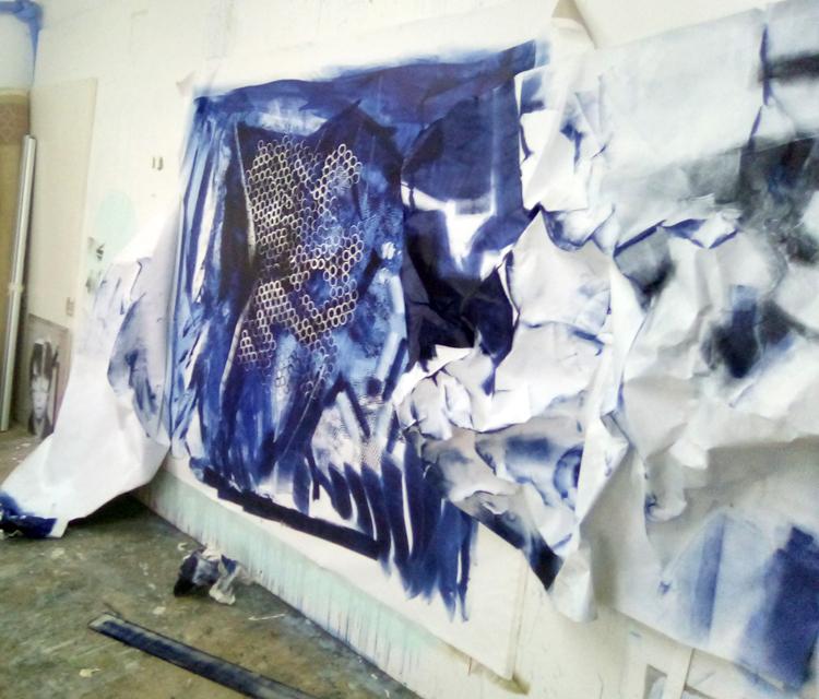"""""""Pintura en descomposició"""" Xevi Masmitjà"""