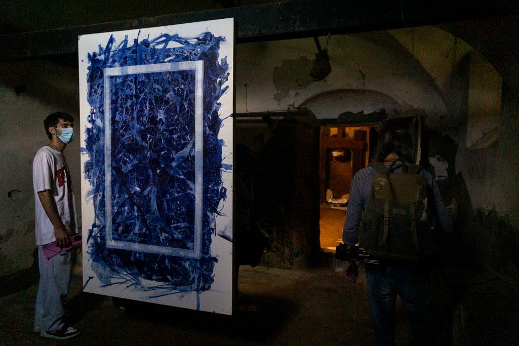 """""""Pintura en descomposició"""" Xevi Masmitjà (Foto: Luís Delgado)"""